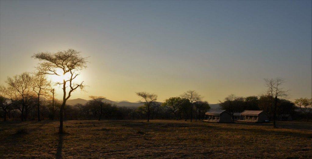 Fabulosa puesta de sol