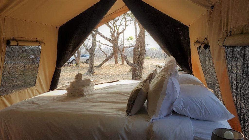 Thick mattress, mosquito net